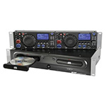 LECTORES CD/DVD/USB/SD FORMATO RACK 19´´