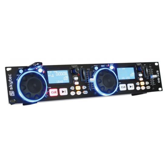 SkyTec STC-50 Doble Reproductor MP3/USB/SD SkyTec  STC-50