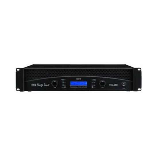 AMPLIFICADOR DJ PRO 1000W MAX. IMG Stage Line STA-600