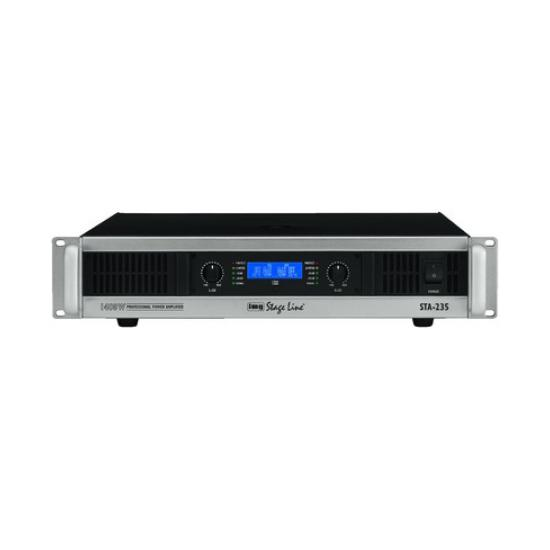 AMPLIFICADOR PROFESIONAL 1400W MAX. IMG Stage Line STA-235