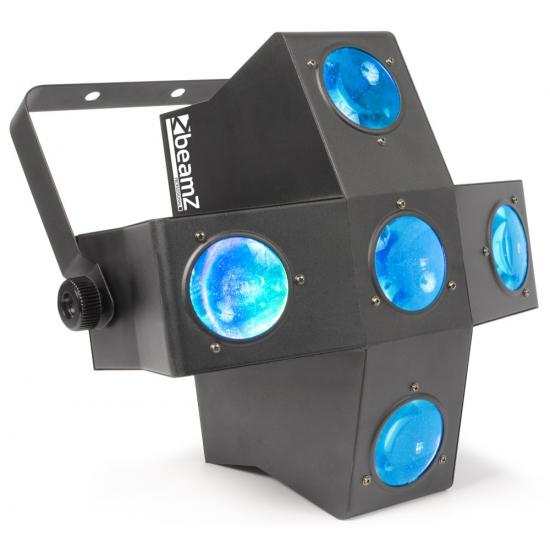 RGBAW LEDs DMX  BeamZ MultiTrix 320