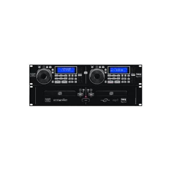 DOBLE LECTOR DE CD/MP3 Y USB PARA RACK 19´´ IMG Stage Line CD-292USB
