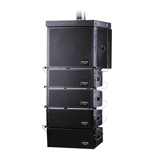 Sistema compacto LINE ARRAY biamplificado, 525 W RMS. Fonestar ARRAY-300A