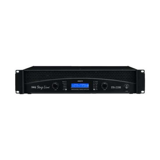 Amplificador estéreo profesional 4000Wmax. IMG Stage Line STA-2200