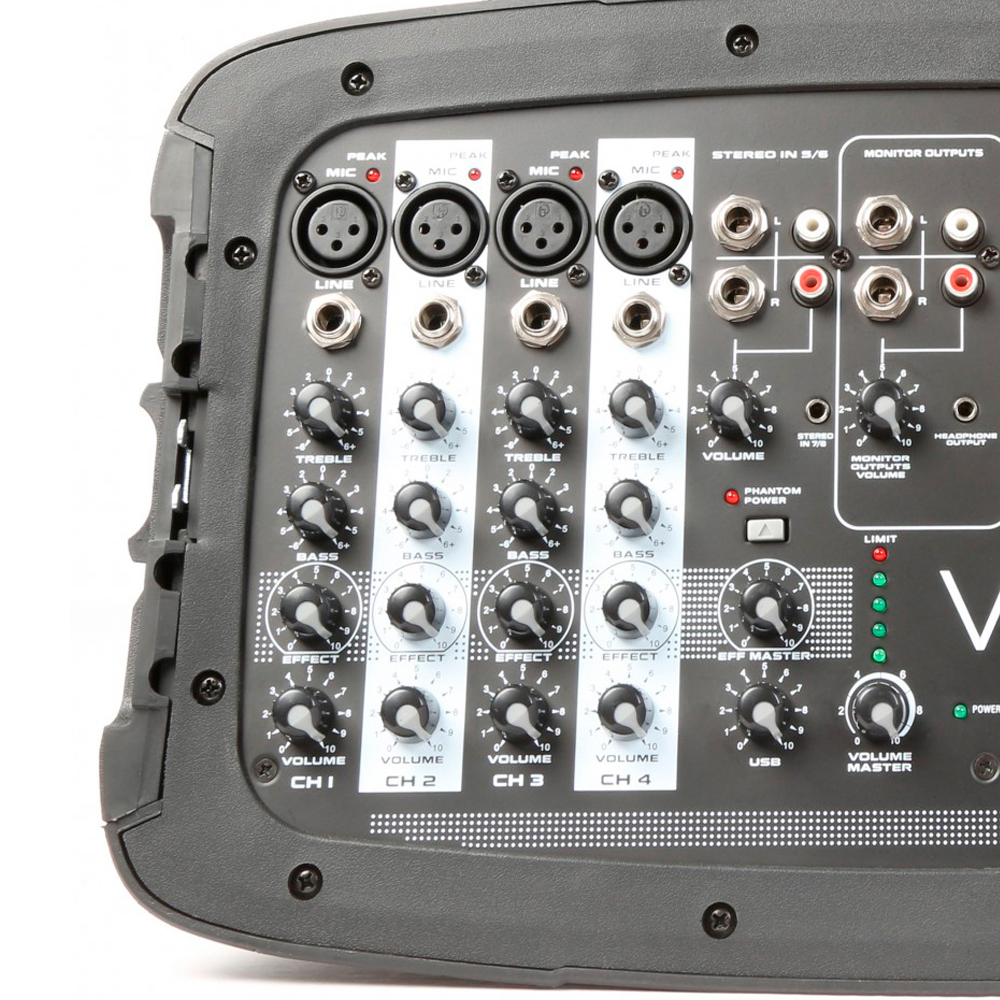 "Vexus PSS302-eu 170.118 Set Portatil 10"" SD/USB/MP3/BT con Tripode Vexus  PSS302 #3"