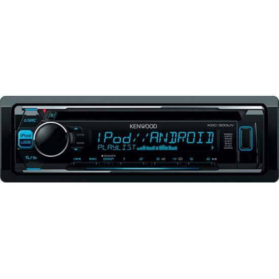 Radio CD USB AUX Bluetooth Kenwood KDC-300UV