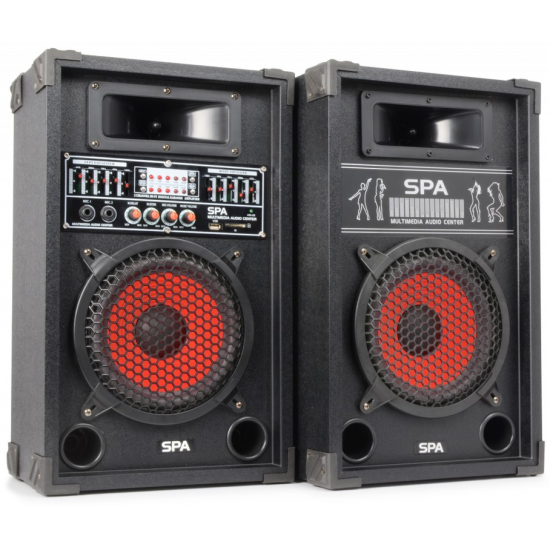 "SPA800 Sistema Altavoces Activo 8"" SD/USB/MP3  015381  SkyTec  SPA800"