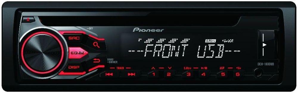 pioneer deh 1900ub 013778 receptor cd rds usb entrada aux. Black Bedroom Furniture Sets. Home Design Ideas