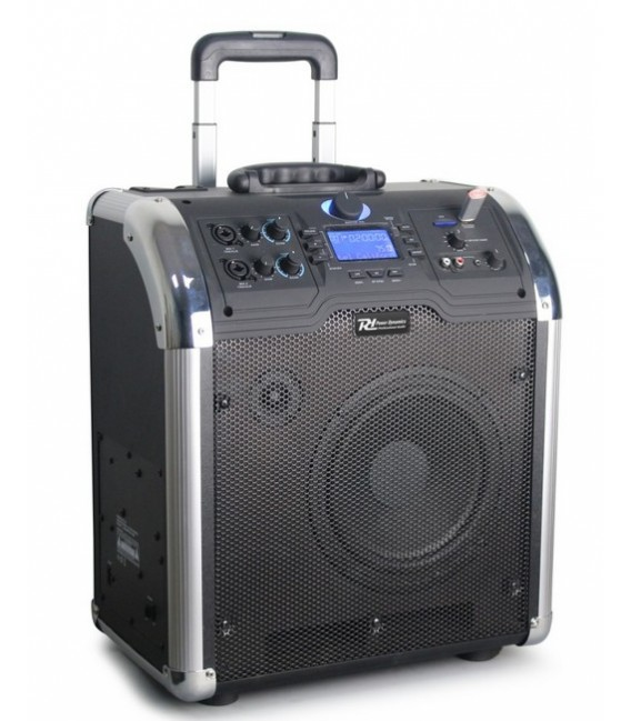 "Set Portatil 8"" SD/USB/MP3/BT 170.123 Power Dynamics PA-203"