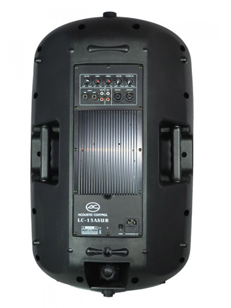 Pack subwoofer 300W + 2 Altavoces 300W + Mezclador 2 Canales con USB SD Bluetooth Acoustic Control DJ COMPLETO 1 SUB #4
