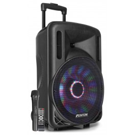 "Bafle Activo 12"" 700W con bateria 016159 FENTON  FT12LED"