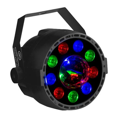 Proyector de 36W LED RGB con efecto magic incorporado Acoustic Control MAGIC PAR LED Proyector LED