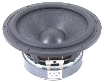"W17RC38-08 6.5 ""Woofer Wool Cone Audiovision  W17RC38-08"