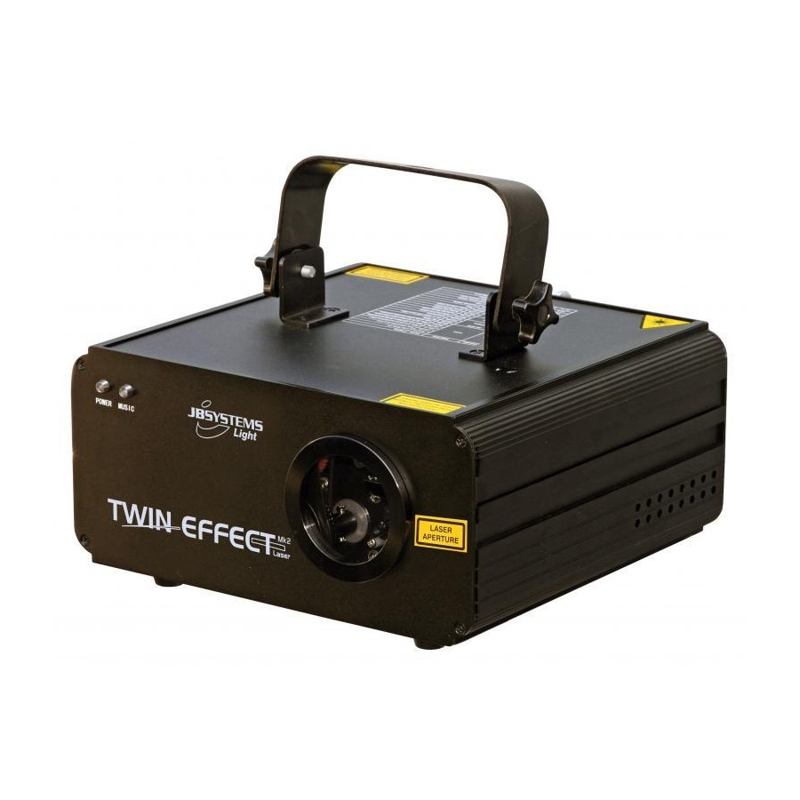 TWIN EFFECT LASER MKII JB SYSTEMS LIGHT 106BE