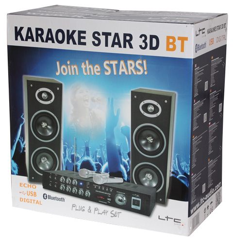 CONJUNTO DE KARAOKE CON DISPLAY DIGITAL & BLUETOOTH LTC KARAOKE-STAR3-BT #4