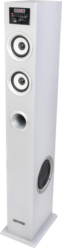 COLUMNA MULTIMEDIA AMPLIFICADA CON SINTONIZADOR FM,  USB/SD & BLUETOOTH 100W MADISON MAD-CENTER100SI