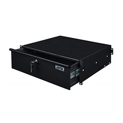 024BE/3196 CAJON CON LLAVE 3 UNIDADES JB SYSTEMS RACK DRAWER 3U