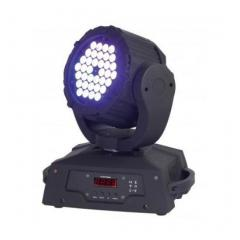 CABEZA MOVIL DE LEDS RGB 36x3W CON DMX Dune KINETIC