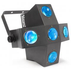 153.724 eu RGBAW LEDs DMX Beamz MultiTrix 320