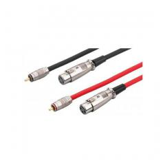 CABLE 2xRCA MACHO / 2xXLR HEMBRA - 3m Cloud Night C-CAB-407
