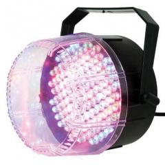 ESTROBOSCOPIO TRICOLOR DE 112 LED IBIZA LIGHT STROBE112LED