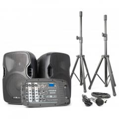 "Set Portatil 10"" SD/USB/MP3/BT con Tripode Vexus  PSS302"