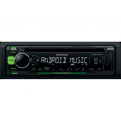 Radio CD USB AUX Kenwood KDC-100UG