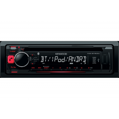 Radio CD USB AUX Bluetooth 50Wx4 Kenwood KDC-BT500U