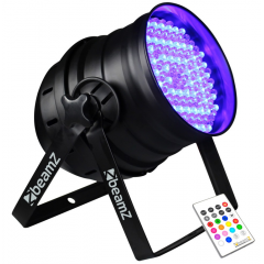 LED Par 64 176x 10mm RGB LEDs Beamz 151.240