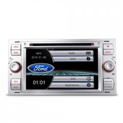 Autoradio Doble DIN Multimedia Gps para Ford Kuga Mondeo S-Max C-Max Focus Audiovision  Ford002