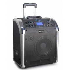 "170.123 Set Portatil 8"" SD/USB/MP3/BT Power Dynamics PA-203"