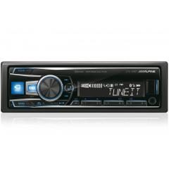 Autoradio con USB Bluetooth 50Wx4 Alpine UTE-92BT