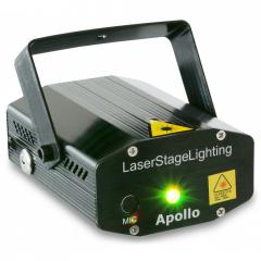 Apollo multipunto Rojo Verde 013796 BeamZ Apollo laser