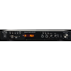 AMPLIFICADOR HIFI ESTEREO MP5 2 X 50W CON VIDEO MP5 HDMI, USB, SD, FM, BLUETOOTH +2 MICROS & KARAOKE LTC ATM6100MP5
