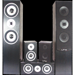 ALTAVOCES HOME THEATER 5.0 NEGRO LTC E1004BL