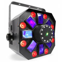 LED with laser and strobe 150.671 eu BeamZ MultiAcis IV
