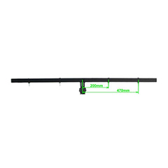 TB-64 BARRA T 1.20m PARA 8 FOCOS JB SYSTEMS LIGHT 109BE/TB-64