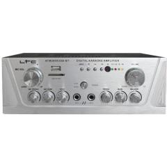 AMPLIFICADOR ESTEREO 2x50W CON KARAOKE, USB-MP3/SD & BLUETOOTH eu LTC ATM2000USB-BT