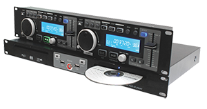 DUAL CD / USB PLAYER BST CDD500
