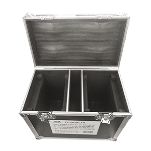 FLIGHTCASE FOR 2x BEAM1R MOVING HEADS AFX FL-DUAL1R