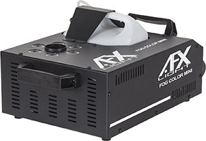 LED FOG MACHINE 900W  AFX FOG-COLOR-MINI