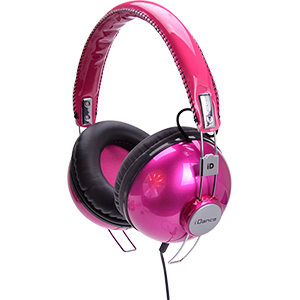 FASHION HEADPHONE HIPSTER-102 PINK/BLACK iDance HIPSTER102