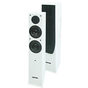 BAFLES HI-FI DE 2 V?AS 120W BLANCOS MADISON MAD-65WH