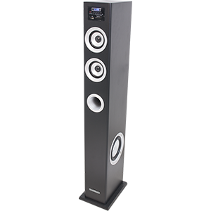 COLUMNA MULTIMEDIA AMPLIFICADA CON SINTONIZADOR FM,  USB/SD & BLUETOOTH 100W MADISON MAD-CENTER100BK