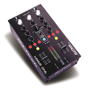 PROFESSIONAL USB-MIDI DJ MIXER MIXER ONE DJ-Tech MIXERONE