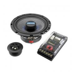 Sistema High-Tech coaxial y de componentes, 150 WMAX, 75 WRMS, 4 Carpower TWINSET-165