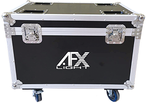 TRANSPORT FLIGHT CASE FOR 6x PARLED-W15 AFX FL-6PARW15